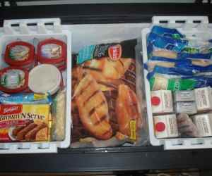 freezer stockpile