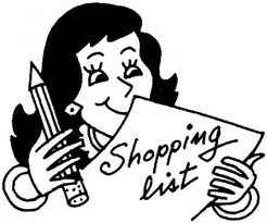 shopping plan