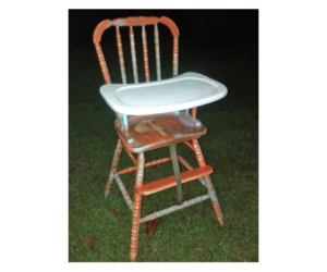 Refinishing Furniture High Chair