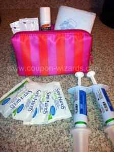 Target beauty bags use 3