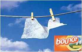 used dryer sheets