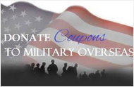 Donate Expired Coupons to Our Military Troops Overseas