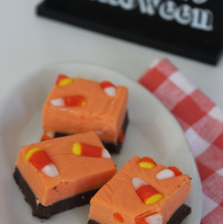 Halloween Candy Corn Fudge