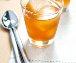 Brandy with Homemade Ginger Syrup