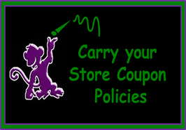 Carry Your Stores Coupon Policies