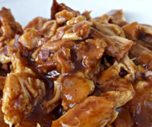 Slow Cooker Root Beer BBQ Chicken