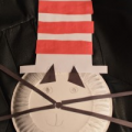Dr Seuss Cat In The Hat Plates Craft