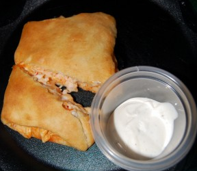 Homemade Buffalo Chicken Hot Pockets