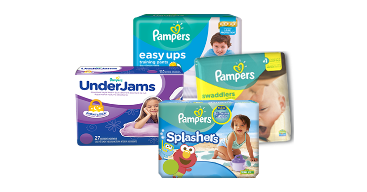 Pampers Diapers Printable coupons Group