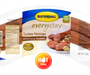 1 Publix Deal - Butterball Smoked Turkey Sausage