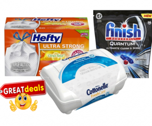 1 Target Deal - Finish-Hefty-Cottonelle Wipes