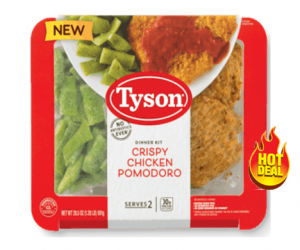 1 Target Deal - Tyson Fully Cooked Meal Kits