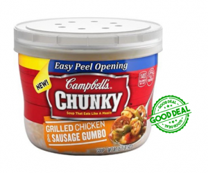 1 Publix Deal - Campbell's Chunky Microwaveable Soup