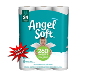 1 Publix Deal - Angel Soft 12 Dbl Rolls