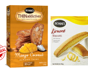 1 Publix Deal - Nonni's Biscotti & Thin Addictives