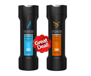 1 Target Deal - AXE 2-in-1 Shampoo Conditioner