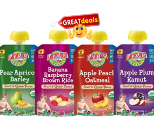 1 Target Deal - Earth's Best Organic Pouches