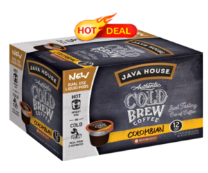 1 Target Deal - Java House Cold Brew K-Cups