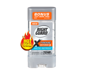 1 Walmart Deal - Right Guard Xtreme Defense