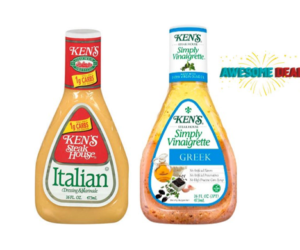 1 Publix Deal - Ken's Dressing & Vinaigrette