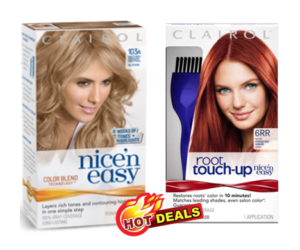 1 Target Deal - Clairol Nice n Easy & Root Touch-Up