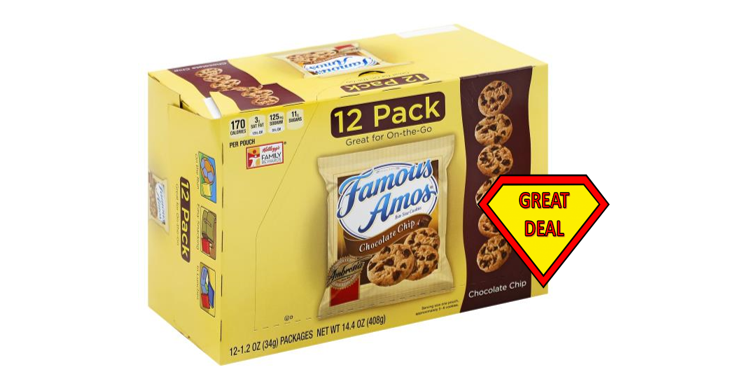 1 Publix Deal – Famous Amos Multipacks