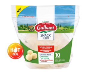 1 Target Deal - Galbani Mozz Snack Cheese