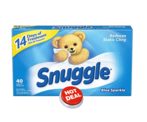 1 Dollar General Deal - Snuggle Fabric Sheets