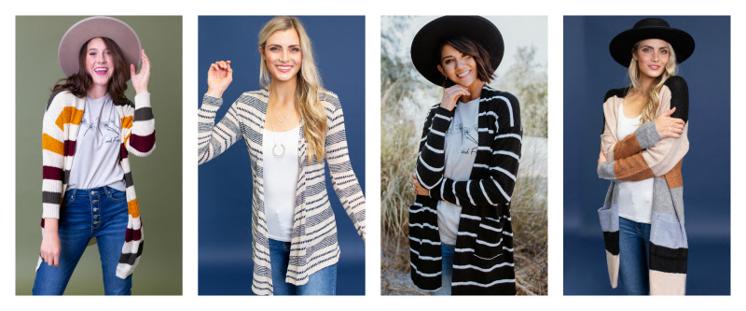 Striped Cardigans 10-23-19 pic 3