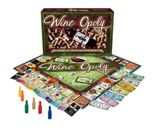 WineOpoly Monopoly Board Game