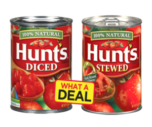1 Publix Deal - Hunt's Canned Tomatoes 14oz