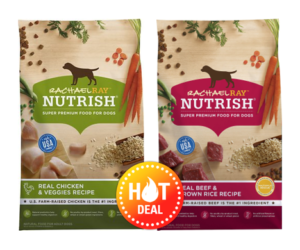 1 Publix Deal - Rachael Ray Nutrish Dry Dog Food