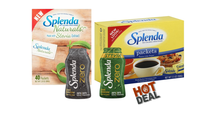 1 Publix Deal – Splenda Sweetener Products
