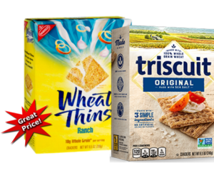 1 Target Deal - Wheat Thins & Triscuits