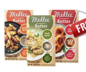 High Value Coupon- Medlee Seasoned Butter