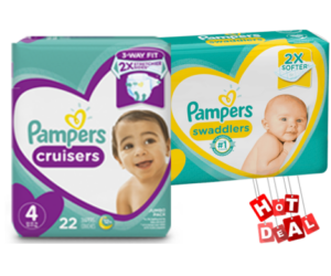 1 Publix Deal - Pampers Swaddlers & Cruisers