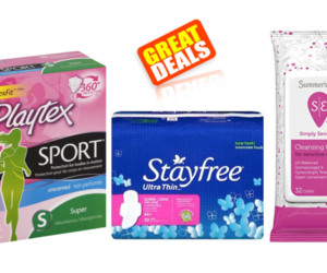 1 Target Deal - Playtex Stayfree Summers Eve