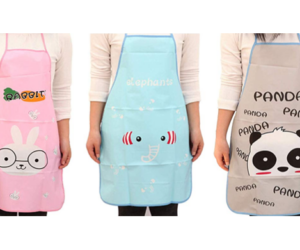 Cobbler Aprons with Cute Animal Prints