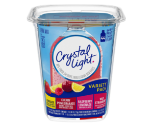 Crystal Light Variety Pack 44ct