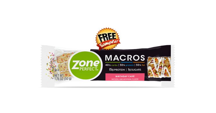 Free Sample - ZonePerfect Bar