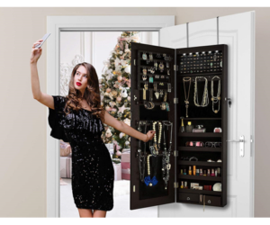 Full Length Jewelry Cabinet