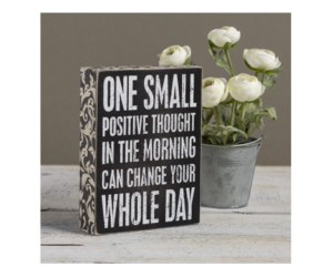 Positive Thoughts Box