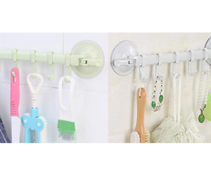 Suction Cup Wall Rack
