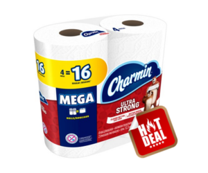 1 CVS Deal - Charmin Ultra 4 Mega Rolls