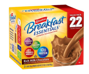 Carnation Breakfast Essentials 22ct