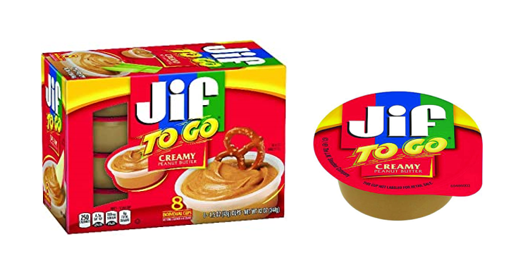 Jif To Go Creamy Peanut Butter Cups, 48ct