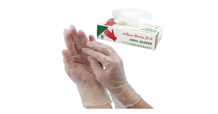 Disposable Gloves, 100ct, Latex & Powder Free