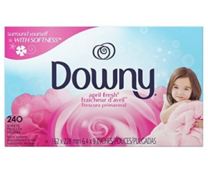 Downy Fabric Softener Sheets AF 240ct