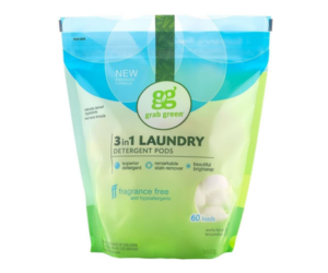 Laundry Pods from Grab Green 3-in-1 60 Loads