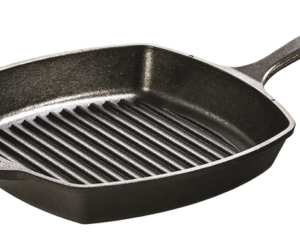 Lodge Cast Iron 10 Inch Grill Pan